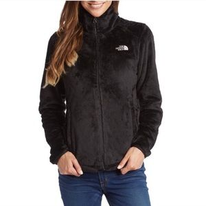 The North Face Osito Black Full ZIP Fleece Jacket